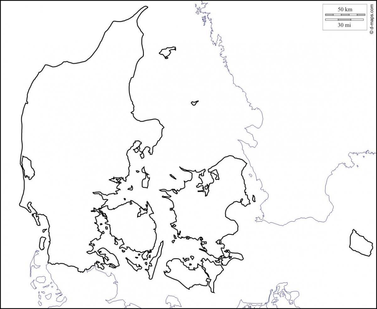 kart danmark no Danmark skissere kart   Kart over danmark disposisjon (Northern  kart danmark no