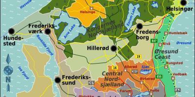 kart over sjælland danmark Danmark kart   Kart Danmark (Nord Europa   Europa) kart over sjælland danmark